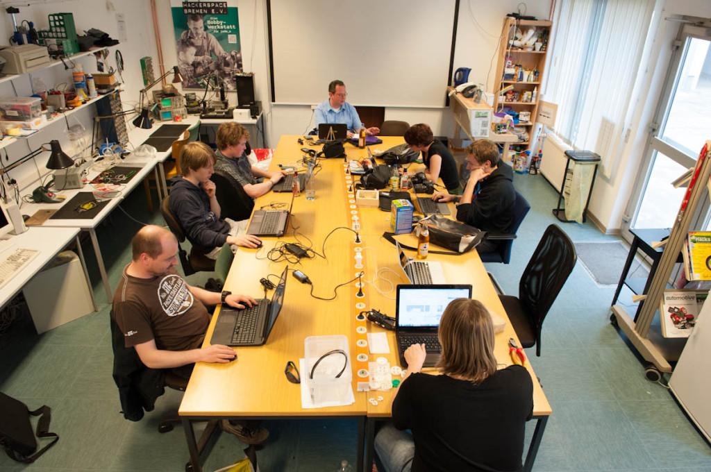 Herzlich Willkommen im Hackerspace Bremen e.V.!