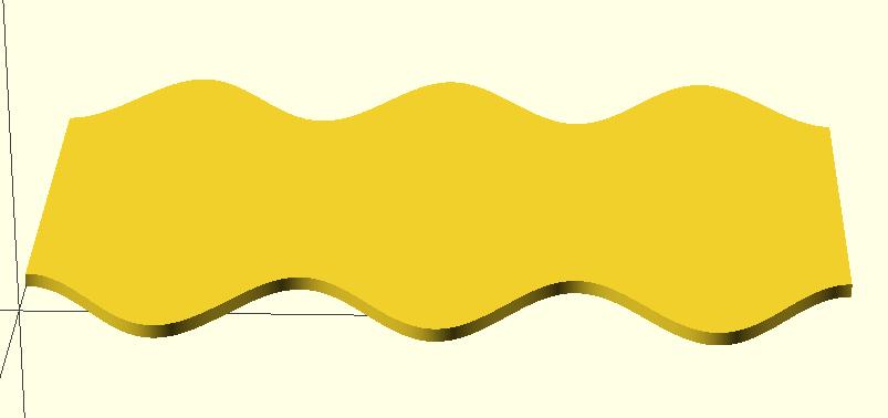 Grundplatte Grundform