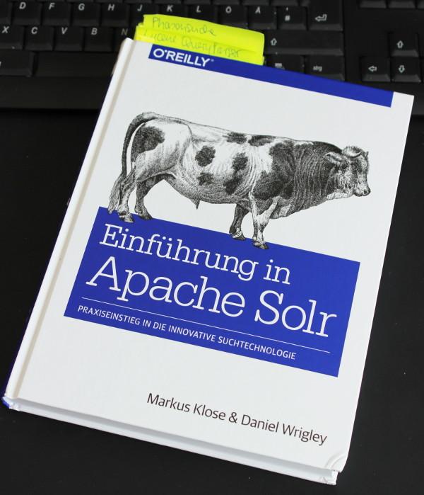 """Das Buch """"Einführung in Apache Solr ..."""