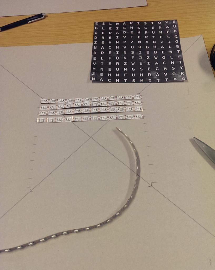LED Streifen zuschneiden