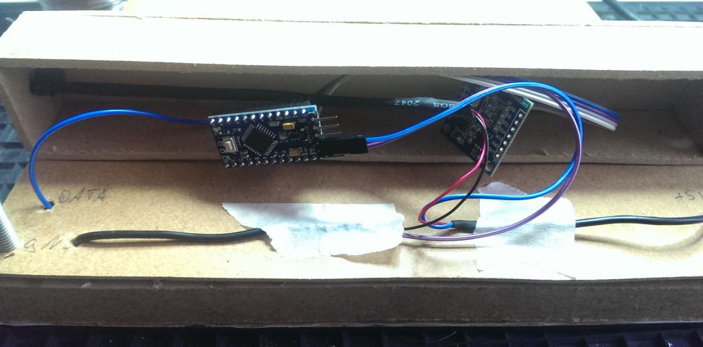 Die Elektronik im Kasten