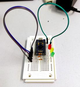 Einfache Arduino-Schaltung