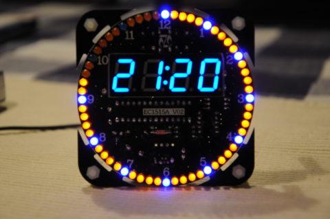 LED-Uhr für Bastelnachmittag